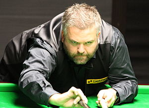 Marcus Campbell - Campbell at the 2012 Paul Hunter Classic