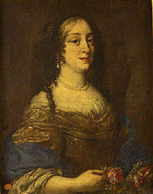 Marguerite Louise d'Orléans after Justus Sustermans, sometimes identified as Vittoria della Rovere, Chambéry ; musée des beaux-arts.jpg