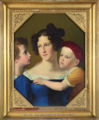 Maria Anna of Hesse-Homburg, Princess of Prussia with her sons.png