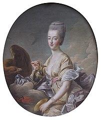 Madame la Dauphine Marie-Antoinette, as Hebe