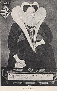Marie de Brimeu dutch botanist