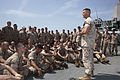 Marines aboard Mesa Verde prepare for liberty 140413-M-MX805-040.jpg
