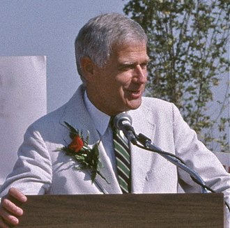 Mark Hatfield - Senator Hatfield in 1986