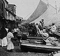 Market boats, Panama City, Panama by H.C. White, ca. 1907 (LOC).jpg