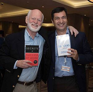 Marshall Goldsmith - Image: Marshall Goldsmith and Nigel Cumberland