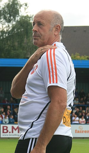 Martin Foyle - Foyle playing in a charity match in 2015