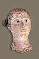 Masque funéraire (Antiquités, Musée des Beaux-Arts de Lyon) (5454020779).jpg