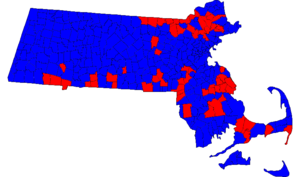 Massachusetts Gubernatorial Election Results by municipality, 2006.png