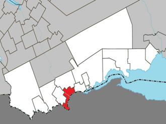 Matapédia, Quebec - Image: Matapédia Quebec location diagram