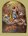 Matevž Langus - Sv. Florijan in goreči Tržič.jpg