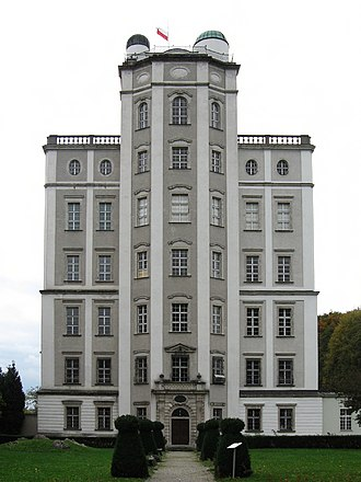 Kremsmünster Abbey - Mathematical Tower with astronomical observatories