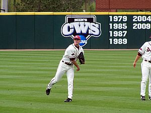 2010 Arkansas Razorbacks baseball team - Vinson hit a walk-off home run to win game three.