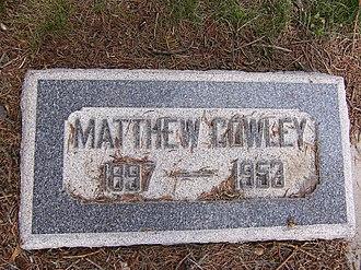 Matthew Cowley - Matthew Cowley's Headstone