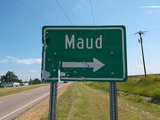 Maud, Mississippi Unincorporated community in Mississippi, United States
