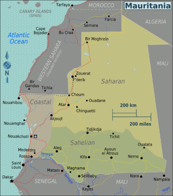 Mauritania Regions map.png