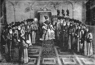Nicholas Mavrogenes - Mavrogenes and the Boyar Council