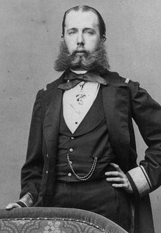 Maximilian I of Mexico - Archduke Maximilian around 1863.