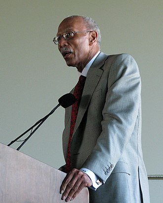 Dave Bing - Mayor Bing delivers a speech in 2009