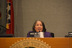Madeline Rogero - Mayor Rogero presiding over a City Council meeting, 2014