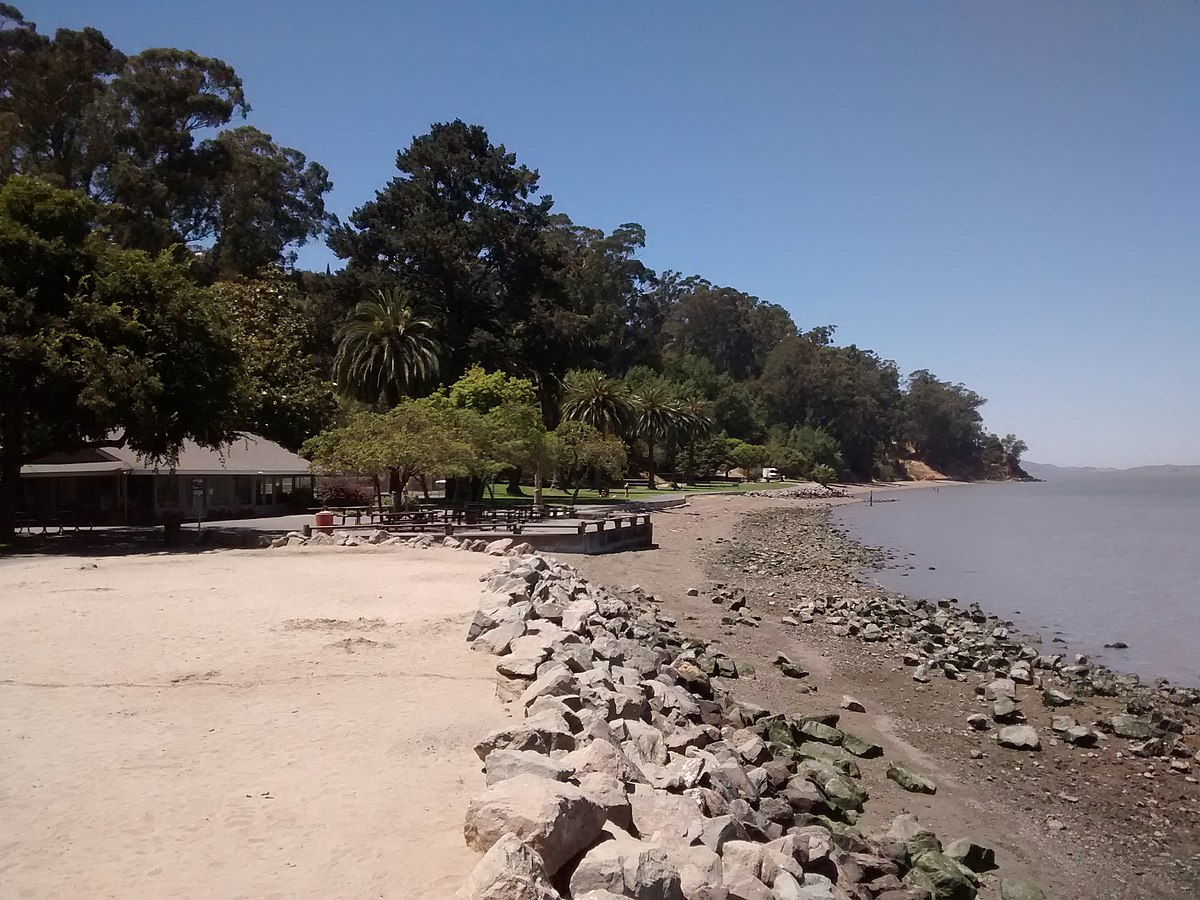 Where Is Mcnear S Beach In Marin County