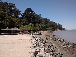 McNears Beach, California Private recreational facility in California, United States