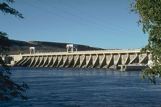 Charles L. McNary - McNary Dam on the Columbia River.