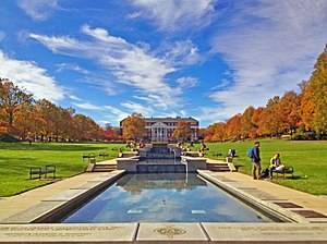McKeldin Mall - McKeldin Mall during the fall semester