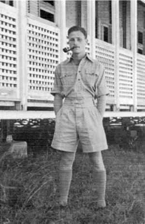 Meir Shamgar - Shamgar in detention in Eritrea, 1946