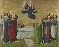 Meister des Marienlebens - Marienleben, Himmelfahrt Mariens Rückseite, untere Hälfte einer Krönung Mariens - WAF 624 - Bavarian State Painting Collections.jpg
