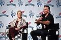 Melody Anderson (Dale Arden) and Sam Jones (Flash Gordon) (49669598737).jpg