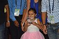 Memento with Little Girl - Closing Ceremony - Wiki Conference India - CGC - Mohali 2016-08-07 8734.JPG