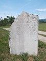 Memorial stone, Klissza Hill, 2017 Pomáz.jpg