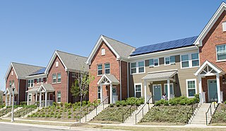 Affordable housing Housing affordable to those with a median household income