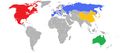 Men's water polo - universiade 2009 - teams.png