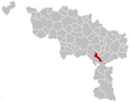 Merbes-le-Château Hainaut Belgium Map.png