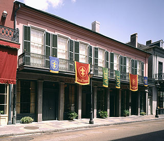 """The Historic New Orleans Collection building in """"Royal Street, New Orleans"""",Louisiana, United States"""