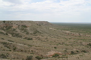 Mescalero Ridge - Escarpment between Caprock and Maljamar