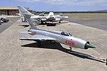 MiG-21PF in NVAF Markings - outside.jpeg