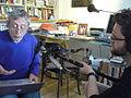 Michael Rosen recording Listening Lions (44) (14511091083).jpg