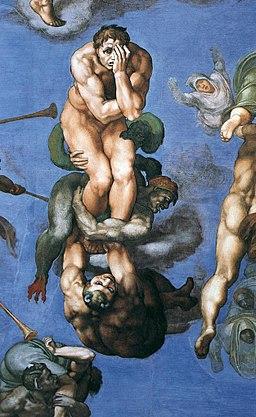 Michelangelo, Giudizio Universale 24