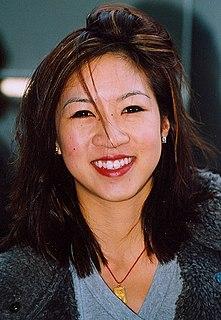 Michelle Kwan American figure skater