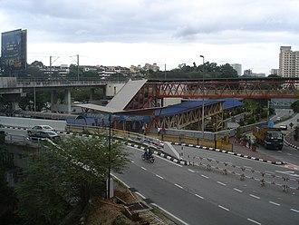 Mid Valley Megamall - Mid Valley Megamall KTM Komuter station.