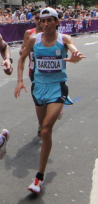 Argentina at the 2012 Summer Olympics - Miguel Bárzola finished thirty-fifth in men's marathon.