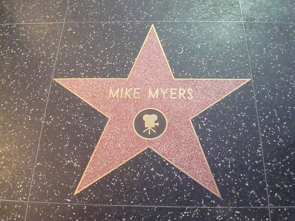 Mike Myers HWoF Star