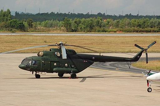 Mil Mi.17 of the Royal Thai Army at Khon Kaen (8229041619)