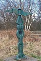 Milepost at Hazel Gap - geograph.org.uk - 123955.jpg