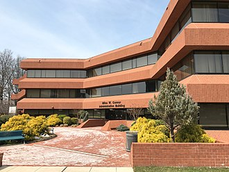 Coppin State University - Miles W. Connor Administration Building on campus
