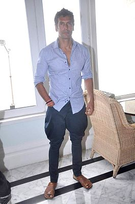 Milind Soman at the NDTV Marks for Sports event 20.jpg