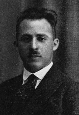 M. Francois D'Eliscu - D'Eliscu pictured in Templar 1923, Temple yearbook