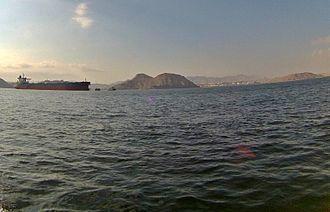 Mina al Fahal - Mina Al Fahal from sea